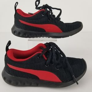 Puma Black/Red Size 11C